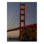 Puente Golden Gate y San Francisco Postales