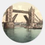 Puente I, Londres, Inglaterra de la torre Etiqueta
