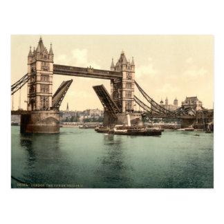Puente I Londres Inglaterra de la torre Tarjeta Postal