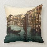 Puente I, Venecia, Italia de Rialto Almohada
