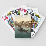 Puente I, Venecia, Italia de Rialto Baraja De Cartas