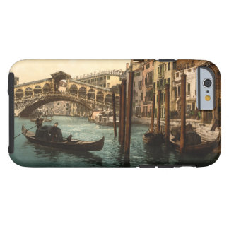 Puente I, Venecia, Italia de Rialto Funda Para iPhone 6 Tough