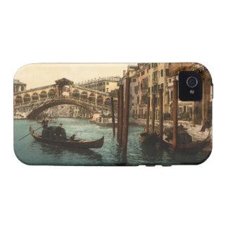 Puente I, Venecia, Italia de Rialto Vibe iPhone 4 Fundas