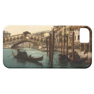 Puente I, Venecia, Italia de Rialto Funda Para iPhone 5 Barely There