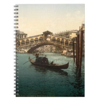 Puente I, Venecia, Italia de Rialto Cuaderno