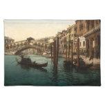 Puente I, Venecia, Italia de Rialto Manteles Individuales