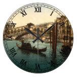 Puente I, Venecia, Italia de Rialto Reloj