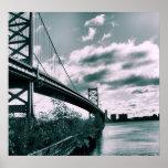 Puente II de Ben Franklin Impresiones