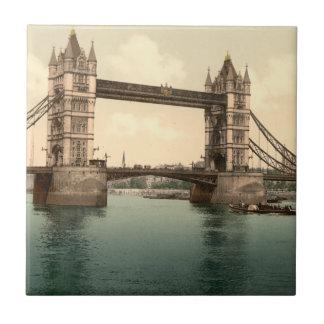 Puente II, Londres, Inglaterra de la torre Azulejo Cuadrado Pequeño