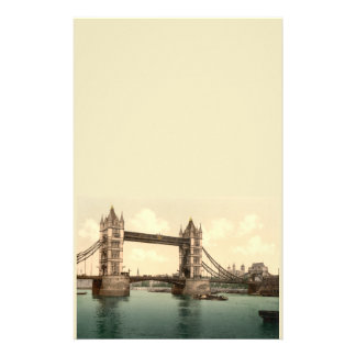 Puente II, Londres, Inglaterra de la torre Papeleria De Diseño
