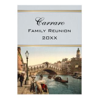 Puente II reunión de Rialto de familia de Venecia