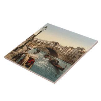 Puente II Venecia Italia de Rialto Teja Cerámica