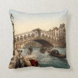 Puente II, Venecia, Italia de Rialto Cojín