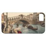Puente II, Venecia, Italia de Rialto iPhone 5 Carcasas