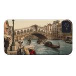 Puente II, Venecia, Italia de Rialto Case-Mate iPhone 4 Fundas
