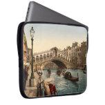 Puente II, Venecia, Italia de Rialto Funda Computadora