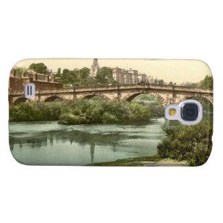 Puente inglés, Shrewsbury, Shropshire, Inglaterra Funda Para Galaxy S4