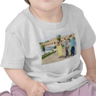 Puente Isfahán de Irán Khajou Camiseta