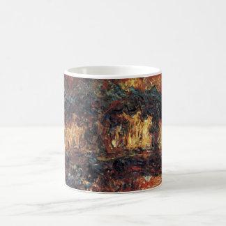 Puente japonés de Claude Monet, bella arte del Taza De Café
