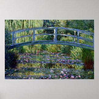Puente japonés - Pont Japonais - por Claude Monet Posters