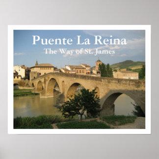 Puente La Reina, The Way of St. James, Spain Poster