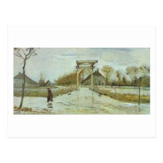 Puente levadizo en Nieuw-Amsterdam, Vincent van Postales
