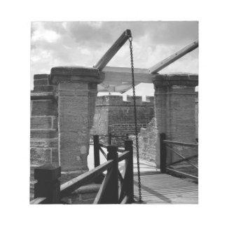 Puente levadizo St Augustine de BW Bloc De Papel