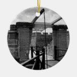 Puente levadizo St Augustine de BW Ornamento Para Arbol De Navidad