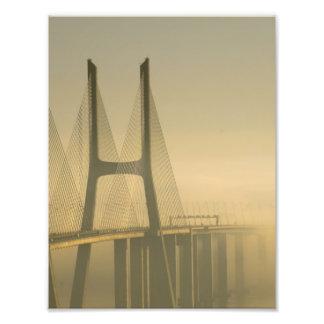 Puente Lisboa Portugal de Vasco da Gama Foto