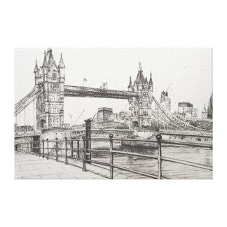 Puente Londres 2006 de la torre Lona Estirada Galerías