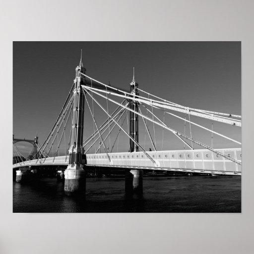 Puente Londres de Albert Póster