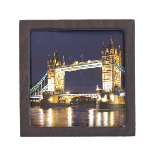Puente Londres de la torre Caja De Joyas De Calidad