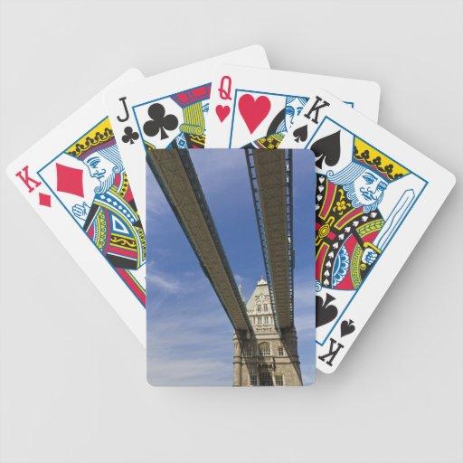 Puente Londres de la torre Cartas De Juego
