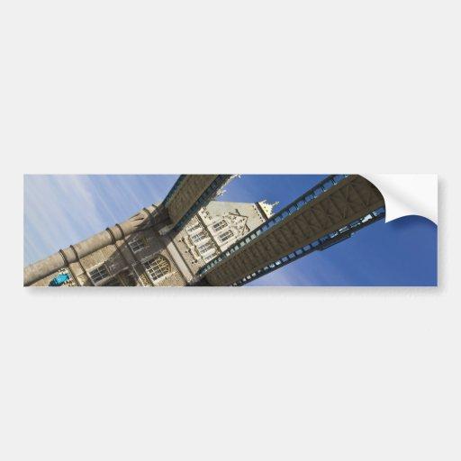 Puente Londres de la torre Etiqueta De Parachoque