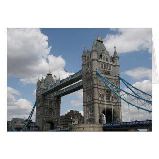 puente Londres de la torre Felicitacion