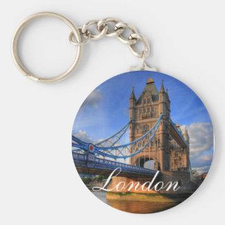 Puente Londres de la torre Llaveros Personalizados