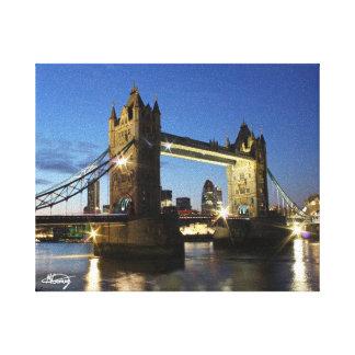 Puente Londres de la torre Lona Envuelta Para Galerías