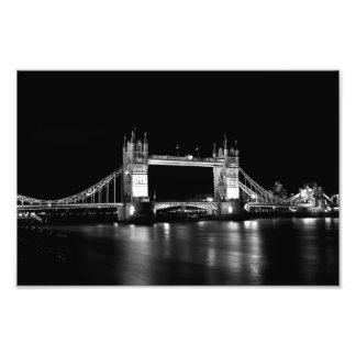 Puente Londres de la torre Impresión Fotográfica