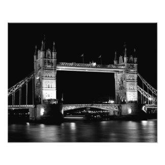 Puente Londres de la torre Fotografía