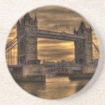 Puente Londres de la torre Posavasos Cerveza