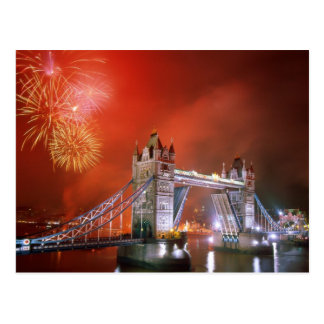 Puente Londres Inglaterra de la torre Postal