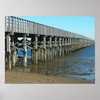 puente mA duxbury del punto del polvo. puente de m Póster