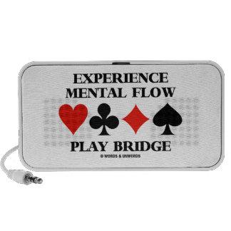 Puente mental del juego del flujo de la experienci iPhone altavoces