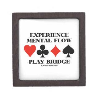 Puente mental del juego del flujo de la experienci caja de regalo de calidad