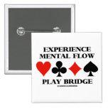 Puente mental del juego del flujo de la experienci pin