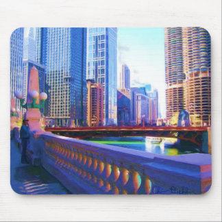 Puente Mousepad de Chicago