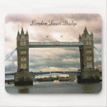 Puente Mousepad de la torre de Londres Alfombrilla De Ratones