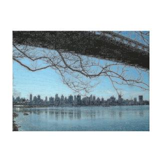 Puente New York City de Triborough Lona Estirada Galerías