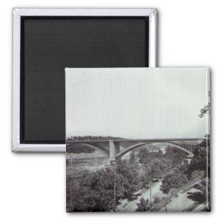 Puente New York City de Washington Imán Cuadrado