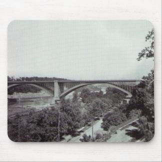 Puente New York City de Washington Tapete De Ratones
